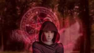 The Red Witch by Mstrl