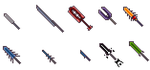 Pixel weapons collection 3 by FrozeN9