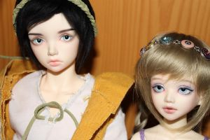 Elin and Nora (JID Vito Iplehouse and Unoa Lusis) by Anireda