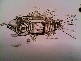 mechanical fish, labeled by Frandsen5