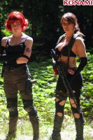 Quiet and Meryl by IXISerenityIXI