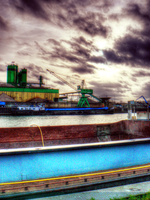 Port of Wageningen, NL - tonemapped by keecee1