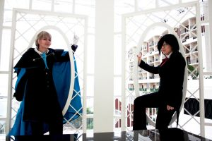 Pandora Hearts: the Prince and the Heir by VieEnRouge