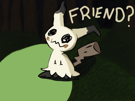 will you befriend Mimikyu? by butercup187