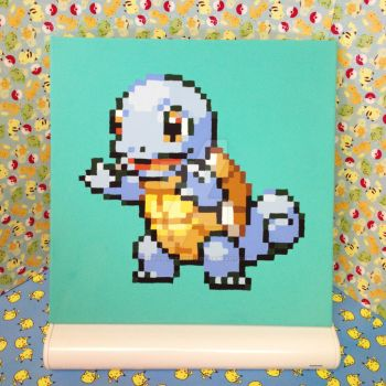 12x12 Squirtle Painting by redroseelcamino