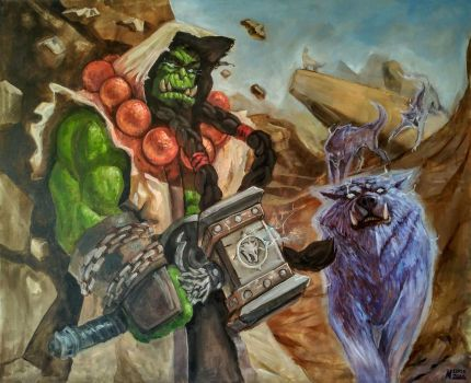 Thrall by MichaelLoos