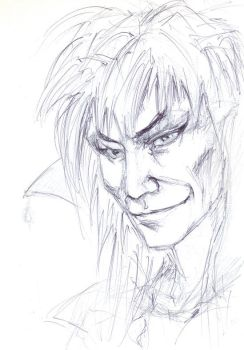 the first Jareth doodle by Pika-la-Cynique