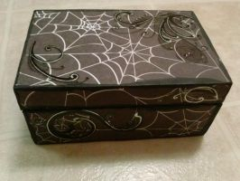 Ghost Widow's Box: front and top by Glyphron