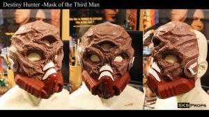 Destiny Hunter The Mask of the Third Man WIP by SKSProps