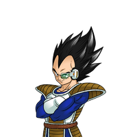 Vegeta Pose 4 ( Dragon Ball Online ) by Majingoku77