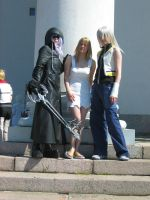 Namine and two Rikus by Nenzie