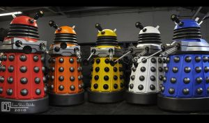 Doctor Who Live Show, Daleks by CB-FX
