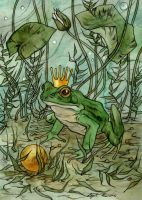 The Frog Prince. by LiigaKlavina