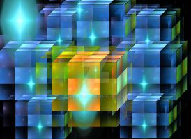 Cube rectangle 01 by androceus