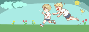 APH Us+Uk - Sports Day by zakunjya
