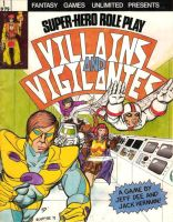 Villains and Vigilantes 1st Ed by JeffDee