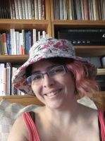 My new hat by cybergranny