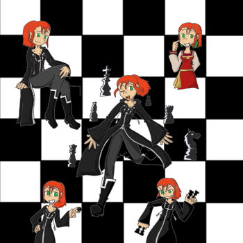 Sixal - the chess queen by Sixala