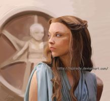 Game of Thrones Margaery Tyrell by HuzRedy