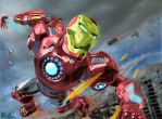 Iron Man's Sky Chase by CGZool