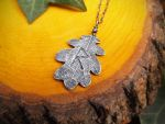 Viking Rune - Raido - Quercus Oak Leaf - Handmade by QuintessentialArts