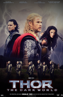 Thor: The Dark World Poster v2 by DiamondDesignHD