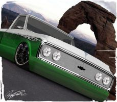 1967 Chevrolet Pickup-SLAMMED by remingtonbox