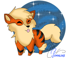 Day 10 _ Favorite FIRE type - ARCANINE by FoMNLiNX