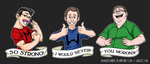 Markiplier Livestream T-Shirt Designs by mongrelmarie