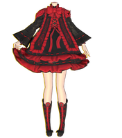 mmd dress bns by Milionna