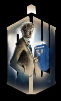 DR WHO - 10th Doctor by SilviaMihailescu