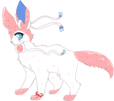 Sylveon Reference Picture by cakep0p