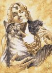 Freyja and her Cats by Toradh