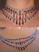 Blood Falls Necklace by LadyRonin
