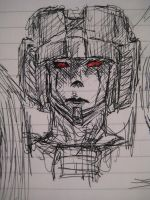 Starscream doodle by TheStarkster