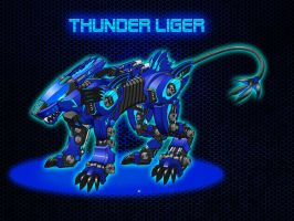 Thunder Liger by ITman496