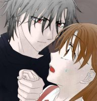 Mikan and Natsume (16 Years Old) by Qiaros