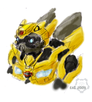 TF-Bumblebee Sketch Colored by rosa-pegasus