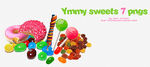 Yummy sweets 7 pngs by Star-Artista