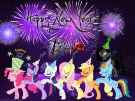 .:Happy New Year! ~Erica:. by ShegoxDrakken