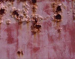 Rusty bubbled paint 2 by hydestock