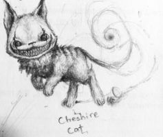 Cheshire Cat by TungstenBulb