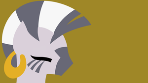 Zecora minimalist background by RJ-Pilot
