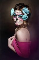 Sugar Skull Makeup by bumbastix