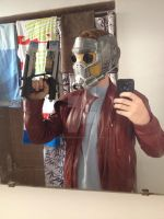 NEW 3D printed Starlord mask (painted/no lenses) by GingerBaribuu