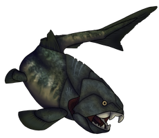 Dunkleosteus by onisyra