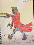 Star-Lord, Guardians of the Galaxy by capric33