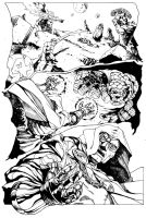In the Realm of Doom 2: Boogaloo Inks by CPuglise9