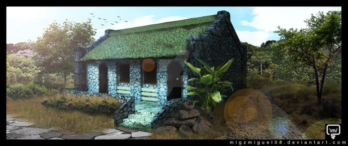 Ivatan House by migzmiguel08