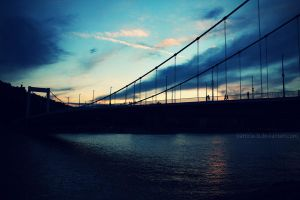 Sunset in Budapest by Patricia-b